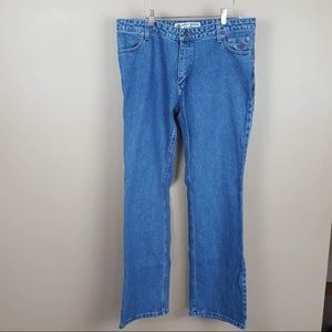 Harley Davidson motorcycle boot cut jeans size 14